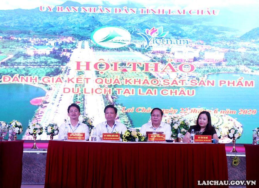 Hội thảo Đánh giá kết quả kháo sát sản phẩm du lịch tại tỉnh Lai Châu
