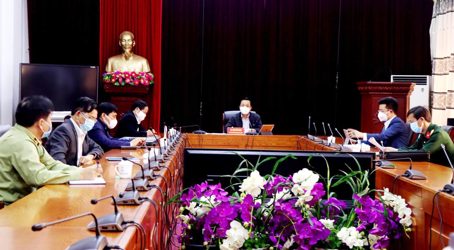 Kết luận của đồng chí Trần Tiến Dũng – Phó Bí thư Tỉnh ủy, Chủ tịch UBND tỉnh, Trưởng Ban Chỉ đạo phòng, chống dịch bệnh Covid-19 tỉnh tại cuộc họp Ban Chỉ đạo ngày 26/3/2020