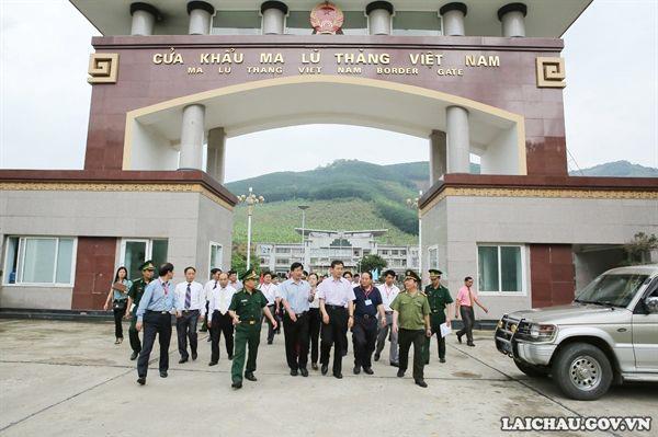 Nâng cấp cặp cửa khẩu song phương Ma Lù Thàng (Việt Nam) - Kim Thủy Hà (Trung Quốc) lên cửa khẩu quốc tế