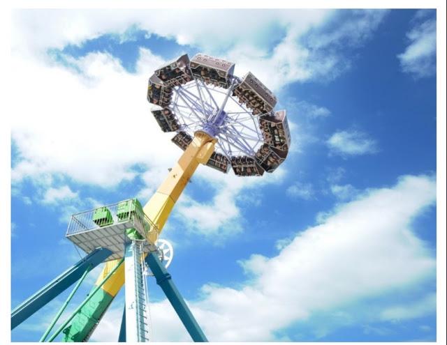 Khu du lịch Cầu kính Rồng Mây chuẩn bị khởi công lắp đặt thêm những trò chơi mới
