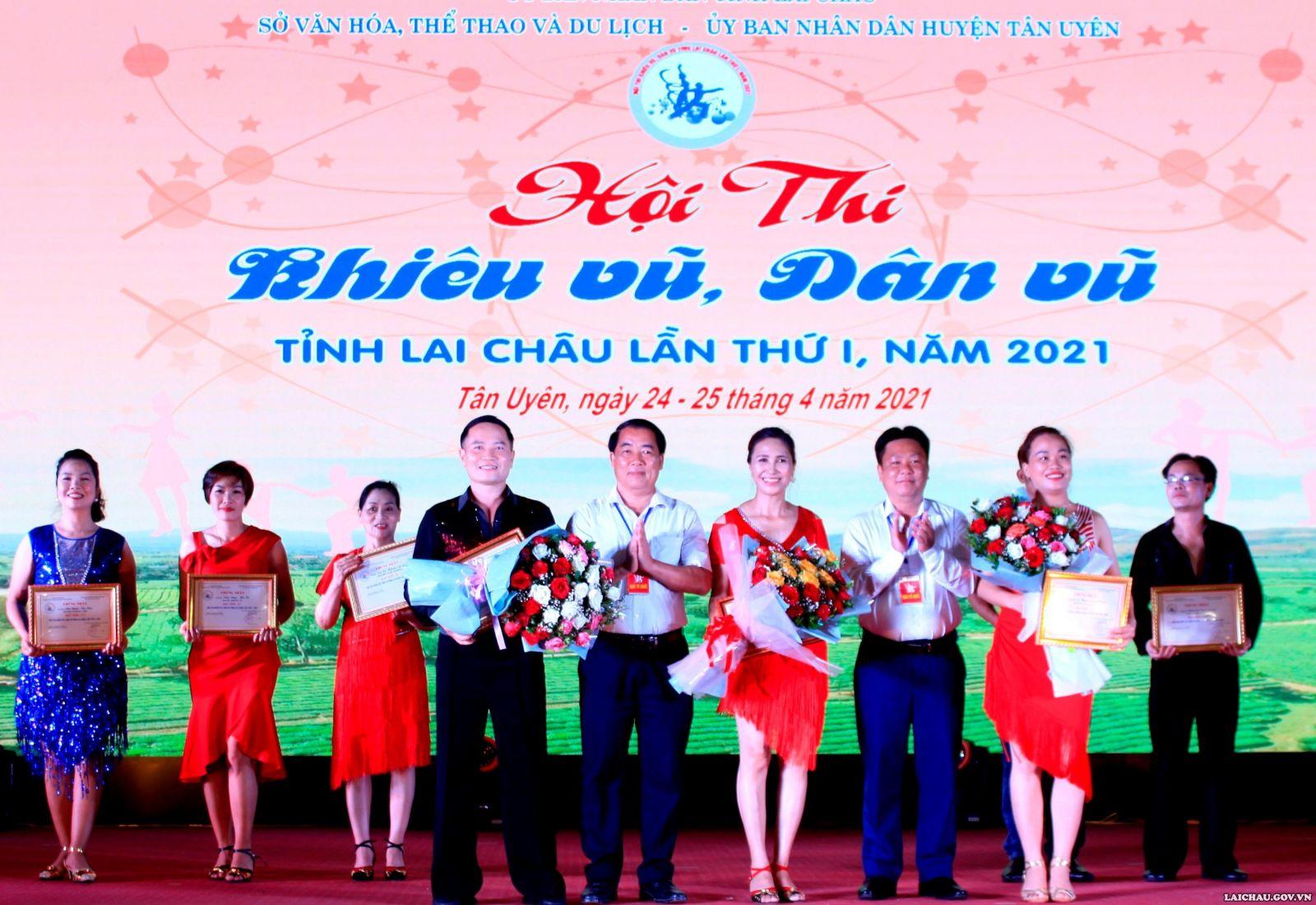 Hội thi khiêu vũ, dân vũ tỉnh Lai Châu lần thứ nhất, năm 2021